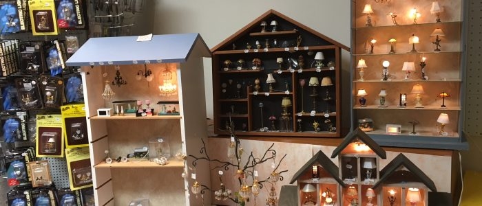 dollhouse miniature lighting
